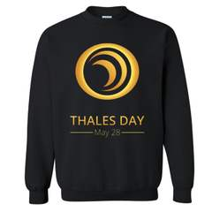 Black Sweatshirt with Thales Day Logo